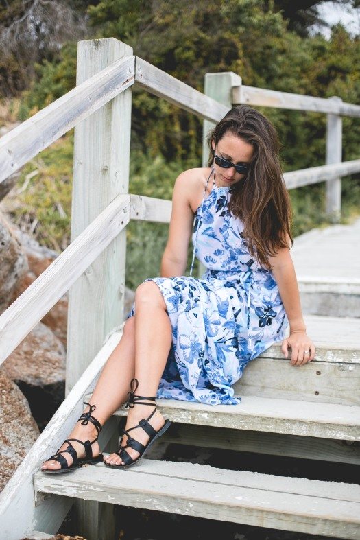 Faithfull Getaway Dress Port Fairy piezloves-7
